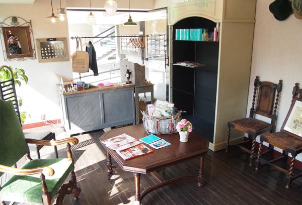 柏の美容室Ameri 店内の様子 レセプション
